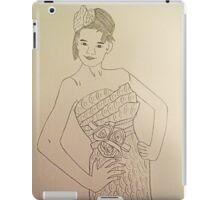 Wedding Dress No 3 iPad Case/Skin