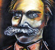 Friedrich Nietzsche by Xen Havales