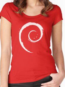 Debian T-Shirt Women's Fitted Scoop T-Shirt