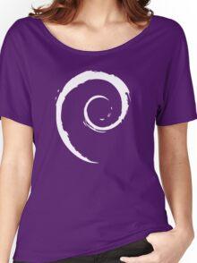 Debian T-Shirt Women's Relaxed Fit T-Shirt