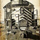 aged train  by A.R. Williams