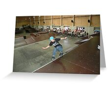Jenny Logue - rollerblading / inline skating at the Australian Titles in 2007 - rollerblading.com.au Greeting Card
