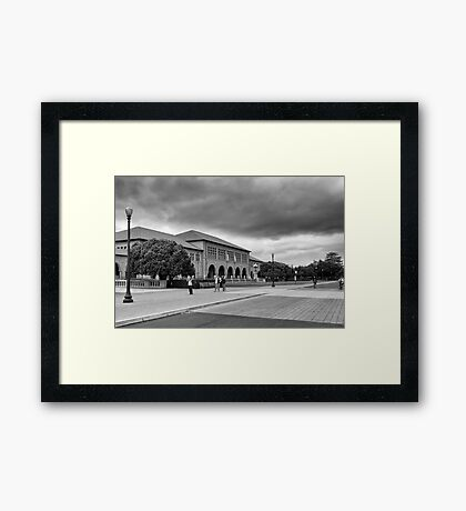 One Day in Stanford / Study 1 Framed Print