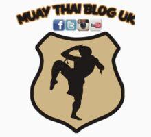 Muay Thai Blog UK logo Baby Tee