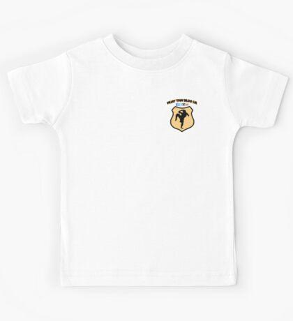 Muay Thai Blog UK logo Kids Tee