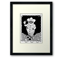Cannibal Clown Framed Print