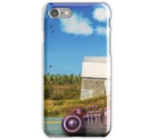Cruising by the Old Barn iPhone Case/Skin