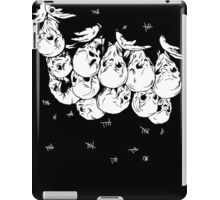 Upside-down Silents iPad Case/Skin