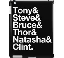 Helvetica- The Avengers iPad Case/Skin