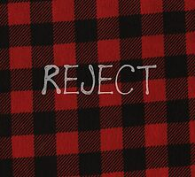 Reject Flannel 5 Seconds of Summer Phone Case by kaelynmxrie