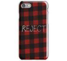 Reject Flannel 5 Seconds of Summer Phone Case iPhone Case/Skin