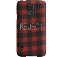 Reject Flannel 5 Seconds of Summer Phone Case Samsung Galaxy Case/Skin