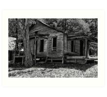 Another Deserted Cabin Art Print