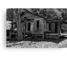 Another Deserted Cabin Canvas Print