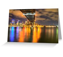 Icon - Moods Of A City #22 - The HDR Series , Sydney Harbour, Australia Greeting Card