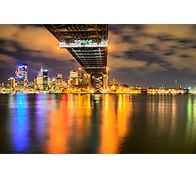 Icon - Moods Of A City #22 - The HDR Series , Sydney Harbour, Australia Photographic Print