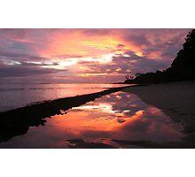 Samoan Sunset Photographic Print