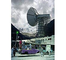 Construction of the Pakistani Starfleet Deepspace Telebeam Tower in Peshawar Photographic Print