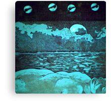 """Night Dreams"" -*FINALIST EMERGING ARTIST 2010 AWARD* Canvas Print"