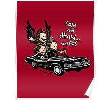 Sam and Dean...and Cas! Poster