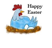 Happy Easter Chicken by MaBoHe