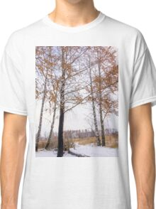 Winter Forest 4 Classic T-Shirt