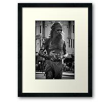 Aboriginal Dancer Framed Print