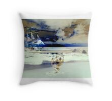 Northern Life Throw Pillow