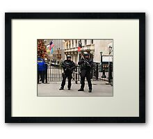 Guns and butter Framed Print