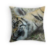 Cute Tiger Cub Throw Pillow
