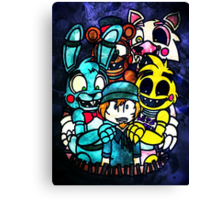 FNAF - Grand Re Opening Version 2 Canvas Print