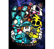 FNAF - Grand Re Opening Version 2 Photographic Print