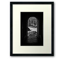 Portoni / Building Doors - Study 7 Framed Print