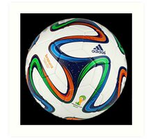 2014 FIFA World Cup Brazil match ball big enough for duvet Art Print