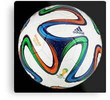 2014 FIFA World Cup Brazil match ball big enough for duvet Metal Print