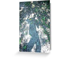 Shadow Man Boogie -- Smooth Moves! Greeting Card