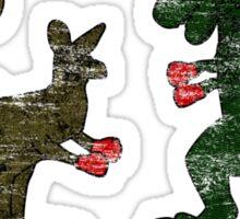 Roo vs. Rex Sticker