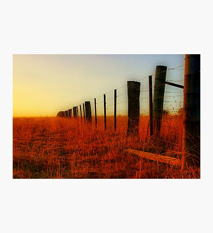"""The Boundary Line "" Photographic Print"