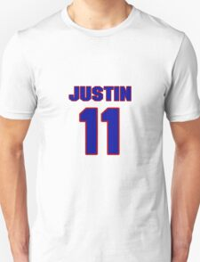 National Hockey player Justin Williams jersey 11 T-Shirt