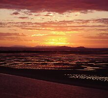 Sunset over Yellowpatch by PhotosByWoody