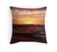 Sunset over Yellowpatch Throw Pillow