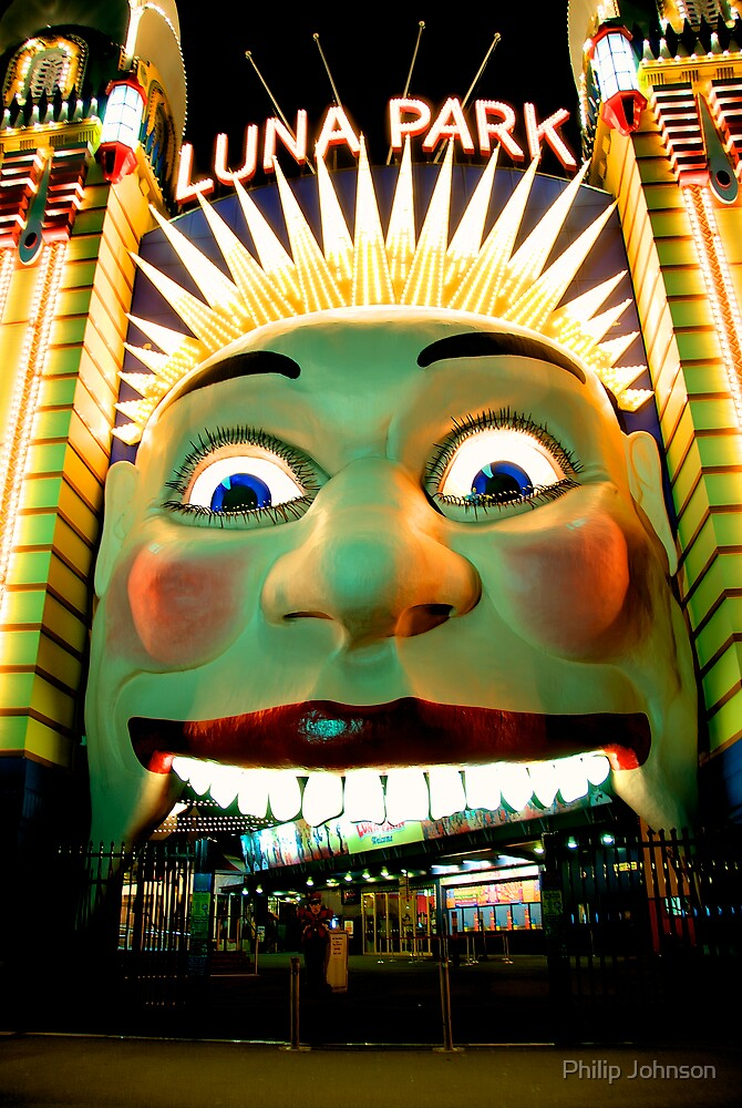 Luna Park Does HDR - Moods of A City #24 - The HDR Series by Philip Johnson