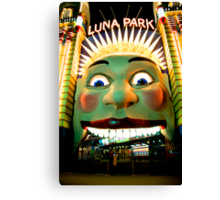 Luna Park Does HDR - Moods of A City #24 - The HDR Series Canvas Print