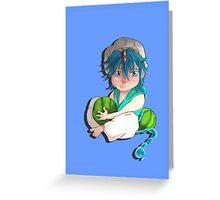 magi- aladdin  Greeting Card