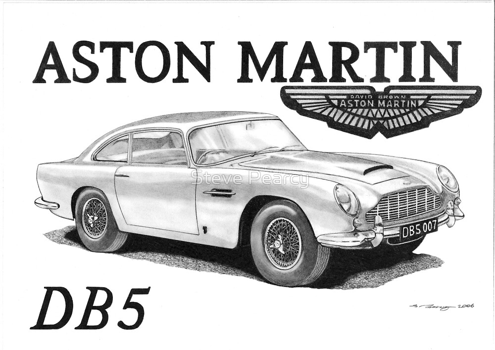 ASTON MARTIN DB5 007 by Steve Pearcy