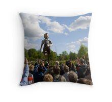 Pinocchio - Borås Sweden Throw Pillow