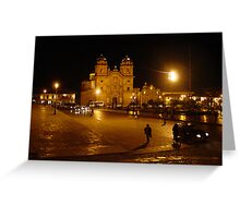 Plaza De Armas Greeting Card