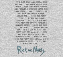 Rick and Morty Forever Kids Clothes