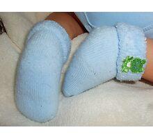 Feet with Eyelash Photographic Print