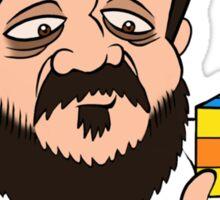 Kubrick's Cube - il cubo di Kubrick  Sticker
